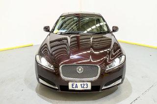 2013 Jaguar XF X250 MY13 Premium Luxury Maroon 8 Speed Sports Automatic Sedan.