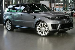 2019 Land Rover Range Rover Sport L494 19.5MY SE Grey 8 Speed Sports Automatic Wagon.
