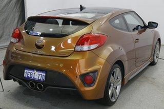 2012 Hyundai Veloster FS2 SR Coupe Turbo Bronze 6 Speed Sports Automatic Hatchback.