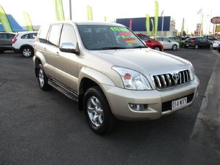 2006 Toyota Landcruiser GXL  PRADO Gold 4 Speed Automatic Wagon