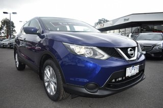 2017 Nissan Qashqai J11 Series 2 ST X-tronic Ink Blue 1 Speed Constant Variable Wagon.