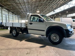 2006 Holden Rodeo RA MY06 DX 4x2 White 5 Speed Manual Cab Chassis.