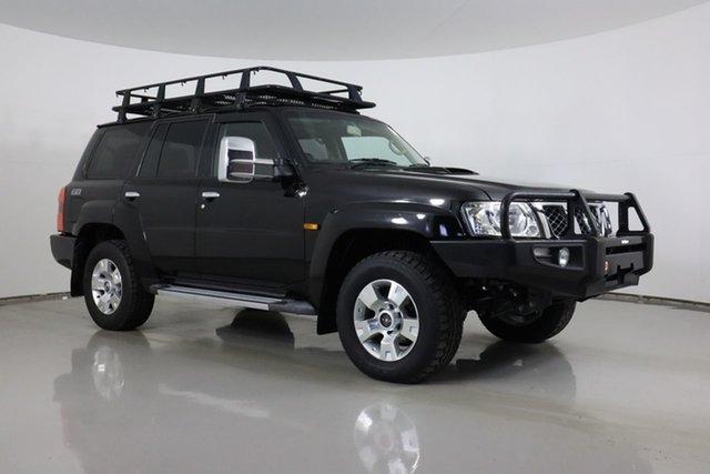 Used Nissan Patrol GU VII TI (4x4) Bentley, 2012 Nissan Patrol GU VII TI (4x4) Black 4 Speed Automatic Wagon