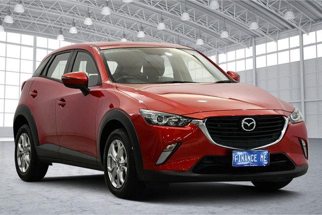 Used Mazda CX-3 DK2W7A Maxx SKYACTIV-Drive Victoria Park, 2015 Mazda CX-3 DK2W7A Maxx SKYACTIV-Drive Red 6 Speed Sports Automatic Wagon