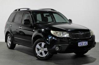 2008 Subaru Forester S3 MY09 XS AWD Premium Black 4 Speed Sports Automatic Wagon.