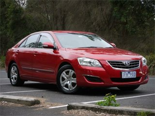 2007 Toyota Aurion GSV40R AT-X Red 6 Speed Sports Automatic Sedan.
