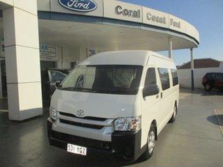 2015 Toyota HiAce KDH221R MY15 SLWB White 4 Speed Automatic Van.