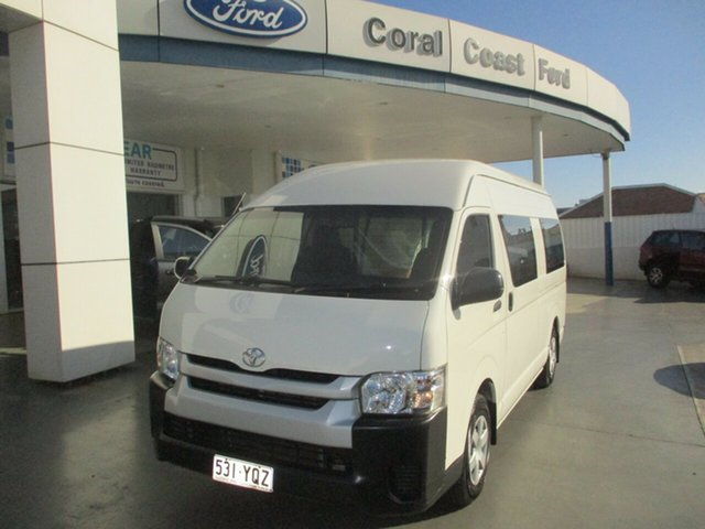 Used Toyota HiAce KDH221R MY15 SLWB Bundaberg, 2015 Toyota HiAce KDH221R MY15 SLWB White 4 Speed Automatic Van