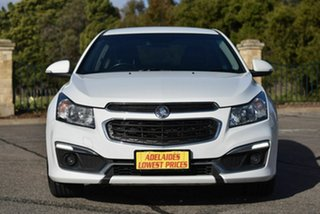 2015 Holden Cruze JH Series II MY15 SRi White 6 Speed Sports Automatic Sedan.