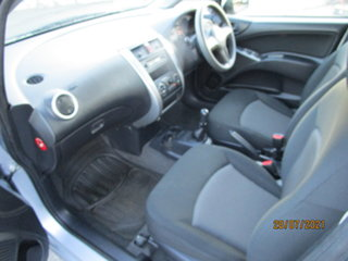 2008 Mitsubishi Colt RG MY07 ES Silver 5 Speed Manual Hatchback