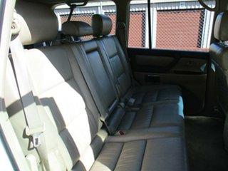 2003 Toyota Landcruiser HDJ100R Sahara White 5 Speed Automatic Wagon