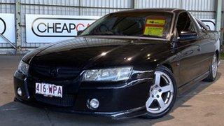 2006 Holden Ute VZ MY06 SV6 Black 5 Speed Automatic Utility.