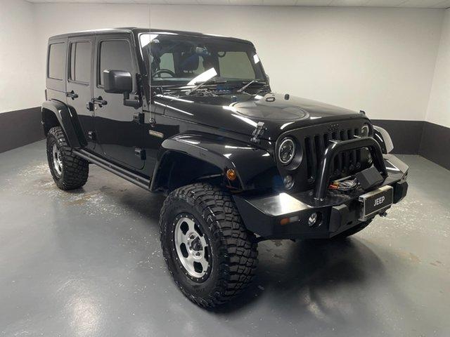 Used Jeep Wrangler JK MY18 Freedom Hamilton, 2018 Jeep Wrangler JK MY18 Freedom Black 5 Speed Automatic Softtop