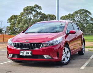 2018 Kia Cerato YD MY18 S Red 6 Speed Sports Automatic Hatchback