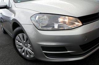 2014 Volkswagen Golf VII MY15 90TSI Silver, Chrome 6 Speed Manual Hatchback.