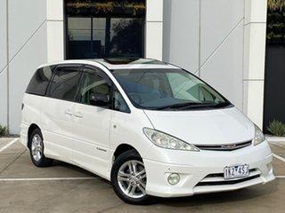 2004 Toyota Estima ACR30 Aeras G-Edition White Automatic Mini Bus.
