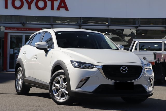 Pre-Owned Mazda CX-3 DK2W7A Maxx SKYACTIV-Drive Upper Mount Gravatt, 2016 Mazda CX-3 DK2W7A Maxx SKYACTIV-Drive Pearl White 6 Speed Sports Automatic Wagon
