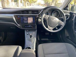 2017 Toyota Corolla ZWE186R Hybrid E-CVT White 1 Speed Constant Variable Hatchback Hybrid