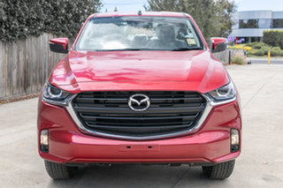 2021 Mazda BT-50 BT-50 B 6MAN 3.0L SINGLE CHASSIS XT 4X4 Red Volcano Cab Chassis