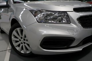 2016 Holden Cruze JH MY15 Equipe Silver 6 Speed Automatic Hatchback.