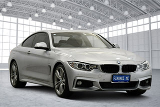 2013 BMW 4 Series F32 428i M Sport Silver 8 Speed Sports Automatic Coupe.