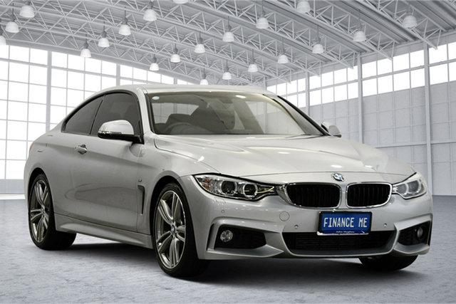 Used BMW 4 Series F32 428i M Sport Victoria Park, 2013 BMW 4 Series F32 428i M Sport Silver 8 Speed Sports Automatic Coupe
