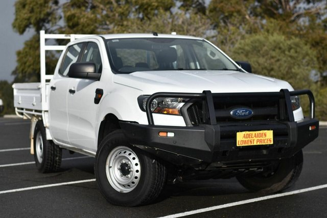Used Ford Ranger PX MkII XL Enfield, 2017 Ford Ranger PX MkII XL White 6 Speed Sports Automatic Cab Chassis
