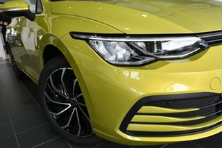2021 Volkswagen Golf 8 MY21 110TSI Life Pomelo Yellow 8 Speed Sports Automatic Hatchback.