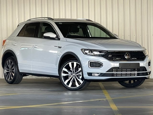 New Volkswagen T-ROC A1 MY21 140TSI DSG 4MOTION Sport Moorabbin, 2021 Volkswagen T-ROC A1 MY21 140TSI DSG 4MOTION Sport White 7 Speed Sports Automatic Dual Clutch