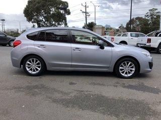 2014 Subaru Impreza MY14 2.0I (AWD) Silver Continuous Variable Hatchback.