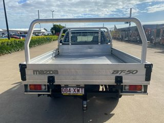 2017 Mazda BT-50 UR0YG1 XT Blue/110417 6 Speed Sports Automatic Cab Chassis