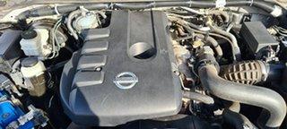 2014 Nissan Navara D40 S7 Titanium Silver 5 Speed Sports Automatic Utility.