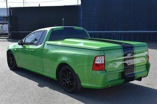 2010 Ford Falcon FG XR6T Green 6 Speed Auto Seq Sportshift Utility