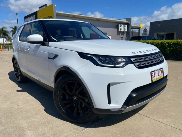 Used Land Rover Discovery Series 5 L462 MY19 HSE Luxury Townsville, 2019 Land Rover Discovery Series 5 L462 MY19 HSE Luxury White/210819 8 Speed Sports Automatic Wagon