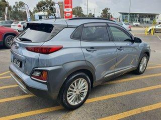 2018 Hyundai Kona OS MY18 Elite 2WD Silver 6 Speed Sports Automatic Wagon