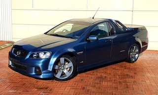 2012 Holden Commodore VE II MY12 SS Thunder Blue 6 Speed Manual Utility.