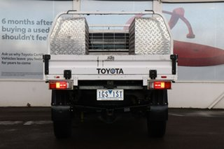 2015 Toyota Hilux GUN125R Workmate Extra Cab Glacier White 6 Speed Manual Cab Chassis