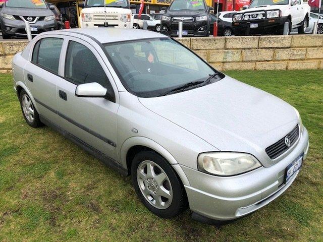 Used Holden Astra TS CD Wangara, 2001 Holden Astra TS CD Silver 4 Speed Automatic Sedan