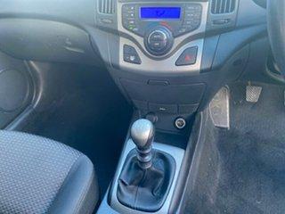 2011 Hyundai i30 FD MY11 SLX Silver 5 Speed Manual Hatchback