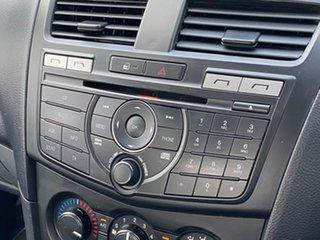 2014 Mazda BT-50 UP0YF1 XT 4x2 Hi-Rider Silver 6 Speed Manual Cab Chassis