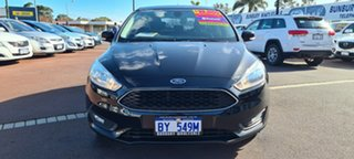 2016 Ford Focus LZ Trend Black 6 Speed Automatic Hatchback.