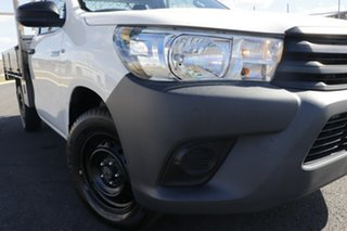 2018 Toyota Hilux White 6 Speed Automatic Cab Chassis