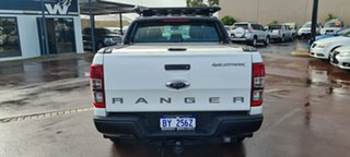 2014 Ford Ranger PX Wildtrak Double Cab White 6 Speed Sports Automatic Utility