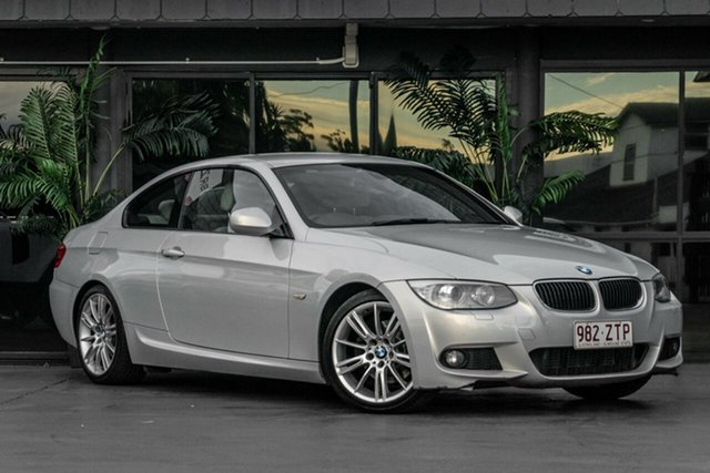 Used BMW 3 Series E92 MY11 320d Steptronic Bowen Hills, 2011 BMW 3 Series E92 MY11 320d Steptronic Silver 6 Speed Sports Automatic Coupe