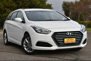 2018 Hyundai i40 VF4 Series II Active Tourer White 6 Speed Sports Automatic Wagon.