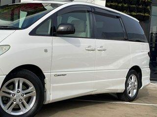 2004 Toyota Estima ACR30 Aeras G-Edition White Automatic Mini Bus