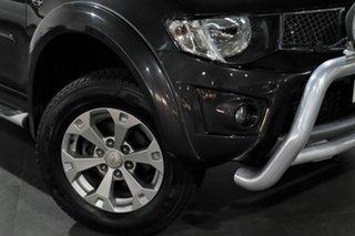 2014 Mitsubishi Triton MN MY15 GLX-R Double Cab Grey 5 Speed Sports Automatic Utility.