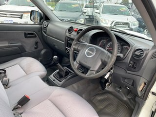 2009 Isuzu D-MAX TF SX (4x4) White 5 Speed Manual Cab Chassis