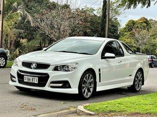 2014 Holden Ute VF MY14 SS V Ute White 6 Speed Manual Utility.