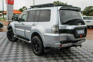 2015 Mitsubishi Pajero NX MY16 GLX Silver 5 Speed Sports Automatic Wagon.